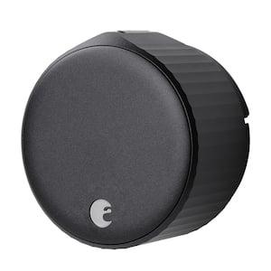 Wi-Fi Smart Lock Matte Black Single Cylinder Deadbolt