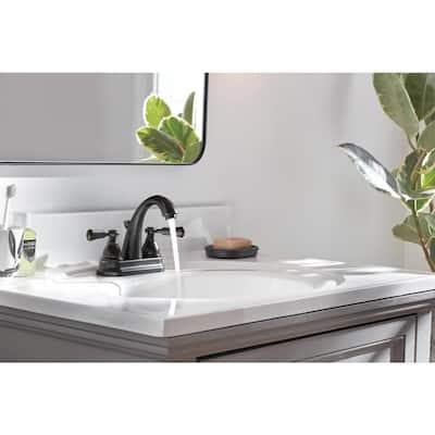 Elmhurst 4 in. Centerset 2-Handle Bathroom Faucet in Oil Rubbed Bronze