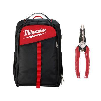 Low Profile Backpack with 6-in-1 Pliers
