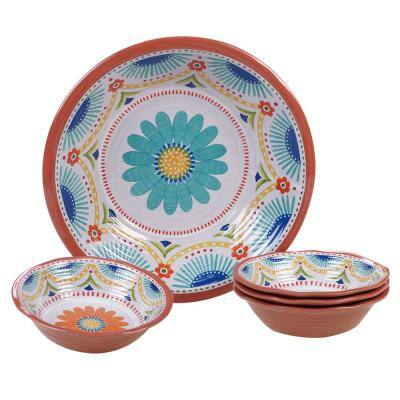 Vera Cruz Multicolor Salad/Serving Set (Set of 5)