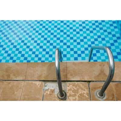 Mediterranean Walnut 12 in. x 24 in. Tan Travertine Pool Coping (15 Pieces / 30 Sq. Ft. / Pallet)