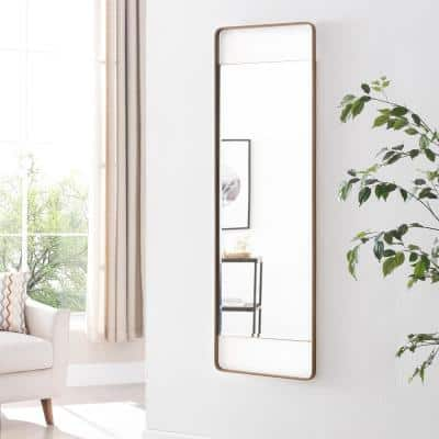 Large Rectangle Gold Mirror (40.25 in. H x 17 in. W)