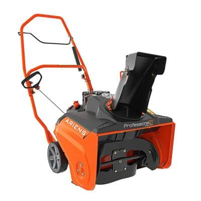 Professional SS 21 in. 208 cc Single-Stage Manual Chute Recoil-Start Gas Snow Blower