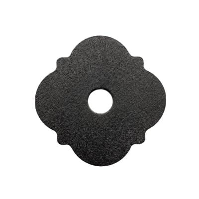 Outdoor Accents Mission Collection ZMAX, Black Powder-Coated Decorative Washer