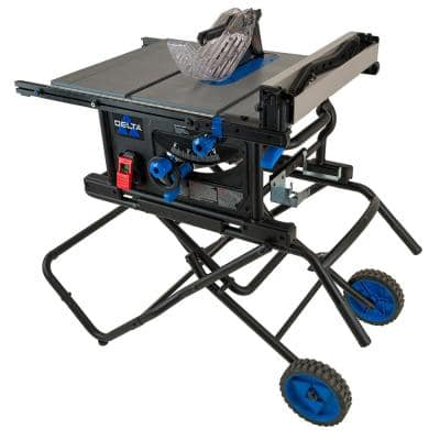 10 in. Portable Contractor Table Saw