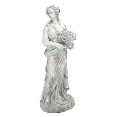 33 in. H Goddess of The 4 Seasons Spring Garden Statue