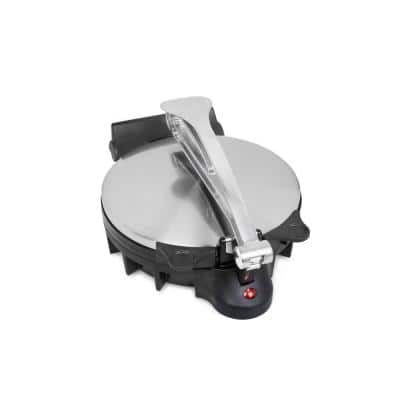 78 sq. in. Stainless Steel Non-Stick Tortilla Maker and Quesadilla Maker