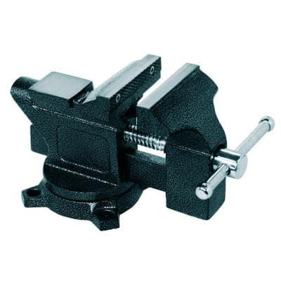 4-1/2 in. Light Duty Bench Vise with Swivel Base