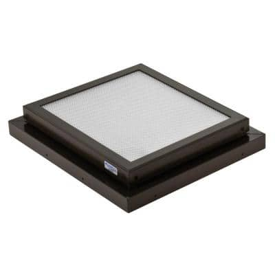 Prismatic 2 ft. x 2 ft. Fixed Curb-Mounted Flat Skylight