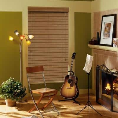 2 in. Premium Faux Wood Blinds