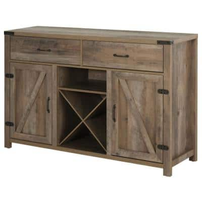 Buffet Table With Wine Storage Off 67, Dining Room Buffet Table With Wine Rack
