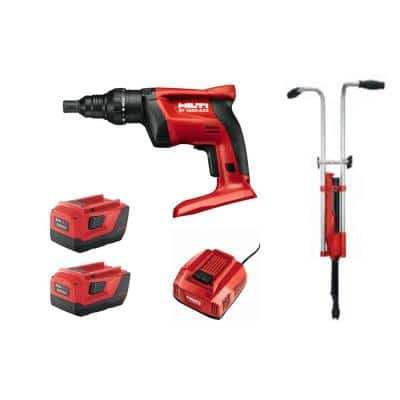120-Volt 1/4 in. Cordless ST 1800 Adjustable Torque Screwdriver with Stand-up Handle and Battery-Pack