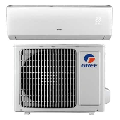 LIVO 9,000 BTU 3/4 Ton Ductless Mini Split Air Conditioner with Inverter, Heat, Remote 115V/60Hz