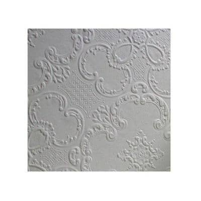 Alfred Paintable Supaglypta Vinyl Non-Pasted Wallpaper Roll (Covers 56.4 Sq. Ft.)
