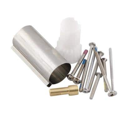 Posi-Temp 1 in. Handle Tub/Shower Extension Kit in Chrome