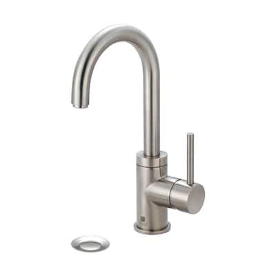 Motegi Single Hole Single-Handle Bathroom Faucet in Brushed Nickel