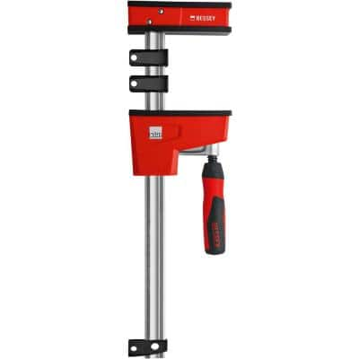 K-Body REVOlution (KRE) 50 in. Capacity Parallel Clamp with Composite Plastic Handle and 3-3/4 in. Throat Depth