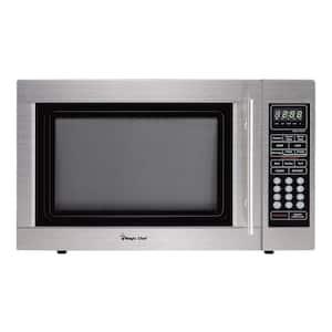 1.3 cu. ft. Countertop Microwave in Stainless Steel