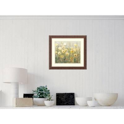 "21 in. H x 19 in. W ""Summer in Bloom I"" by Tim O""Toole Framed Art Print"