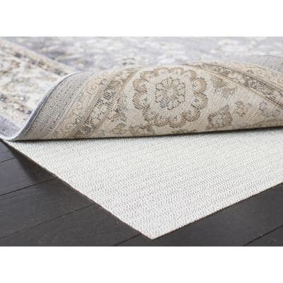 Flat White 8 ft. x 8 ft. Non-Slip Rug Pad