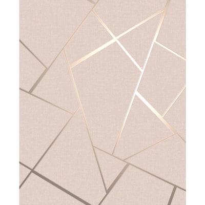 Quartz Blush Fractal Blush Wallpaper Sample