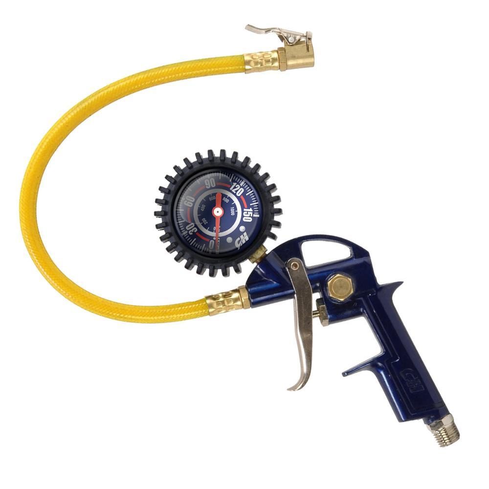 Tire Inflation Gun with Gauge
