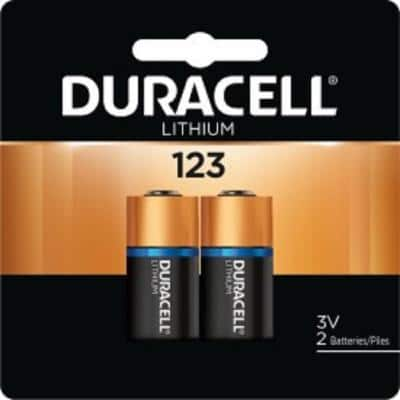 Duracell - 123 High Power Lithium Batteries - (2-Pack)
