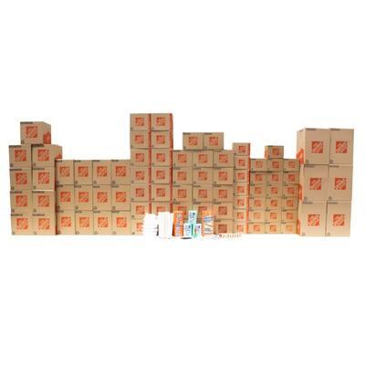 80-Box 3 Bedroom Moving Box Kit