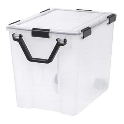 103 Qt. Weather Tight Storage Box in Clear