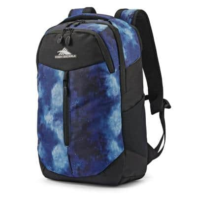 Swerve Pro 5 in. Backpack Bookbag w/ Laptop Pocket and Tablet Sleeve, Space