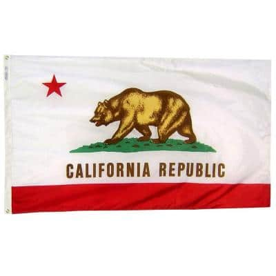 3 ft. x 5 ft. California State Flag