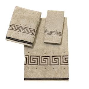 3-Piece Linen Premier Athena Cotton Towel Set