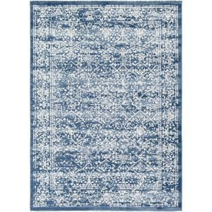Saul Navy 9 ft. x 12 ft. 3 in. Area Rug