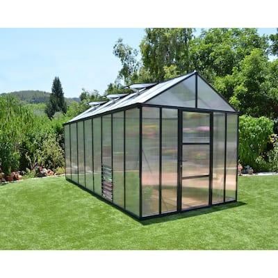 Premium Class 8 ft. x 16 ft. Glory Greenhouse