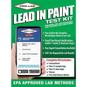 Lead Paint and Dust Test Kit