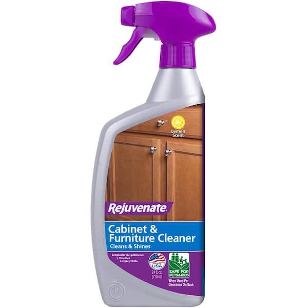Rejuvenate 24 Oz Cabinet And Furniture, Laminate Kitchen Cabinet Cleaner