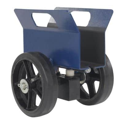 1,200 lb. Adjustable Plate and Slab Dolly with Rubber-On-Steel Wheels