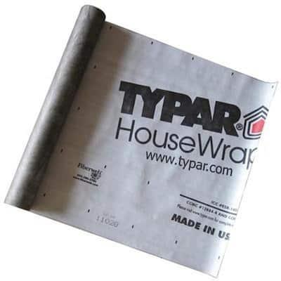 3 ft. x 100 ft. Housewrap