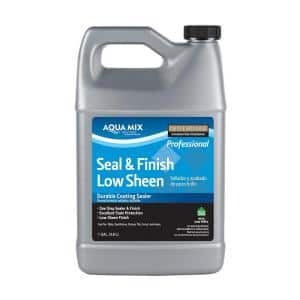 Aqua Mix 1 Gal. Seal and Finish Low Sheen Sealer