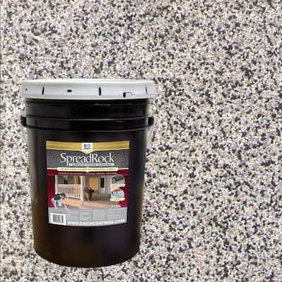 Granite Stone Coating 5 Gal. Flint Gray Satin Interior/Exterior Concrete Resurfacer and Sealer