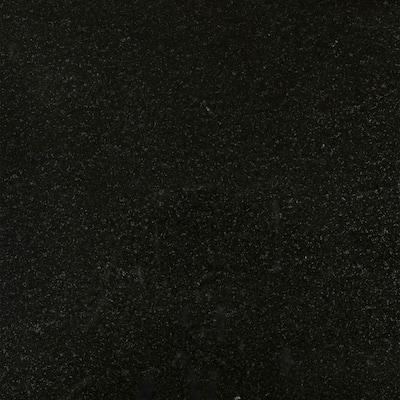 3 in. x 3 in. Granite Countertop Sample in Absolute Black