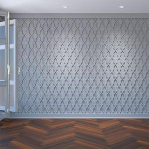 3/8'' x 23-3/8'' x 23-3/8'' Casablanca Decorative Fretwork Wall Panels in Architectural Grade PVC