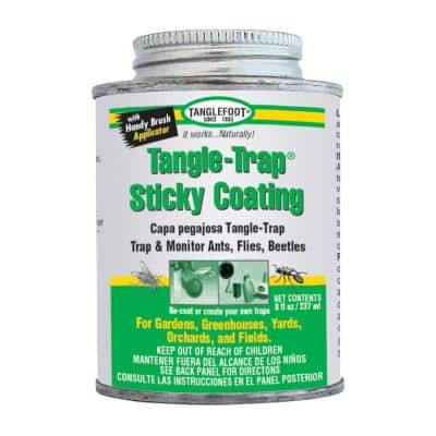 Tangle-Trap Sticky Coating Can with Brush Cap