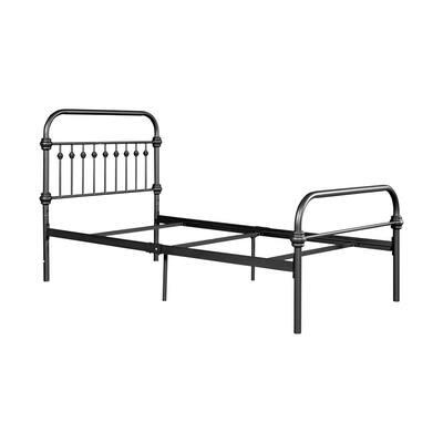 Black Twin Bed Frame Bed Metal Platform Bed Foundation