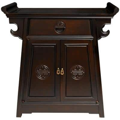 Altar Brown End Table
