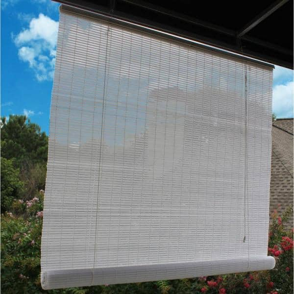 Pvc Exterior Roll Up Patio Sun Shade 36, How To Make A Roll Up Patio Shade