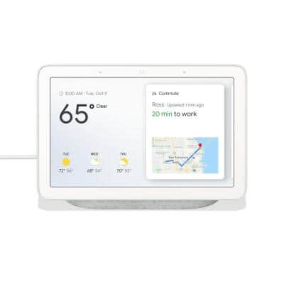 "Nest Hub 1st Gen - Smart Home Speaker and 7"" Display with Google Assistant - Chalk"