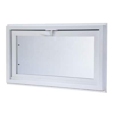 31.75 in. x 21.75 in. Hopper Vinyl Window