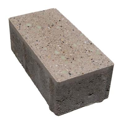 Brilliance Patio Stone - Sea Salt White 4 in. x 8 in. x 2-3/8 in.  - Concrete Paver - 432 Pavers Per Pallet/95 sq. ft.