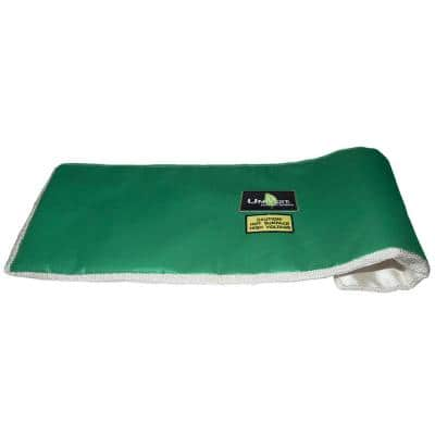 UniVest Throw Blanket High Temperature 12 in. L x 12 in. W x 1 in. H Insulation Wrap - R 0.48